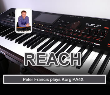 REACH the new CD from Peter Francis